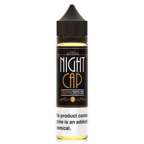 Night Cap eLiquid - Caramel Cheesecake