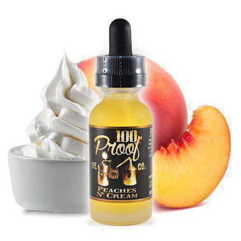 100 Proof Vape Co - Peaches n' Cream