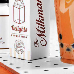 The MilkMan Delights eLiquids - Bubble Milk