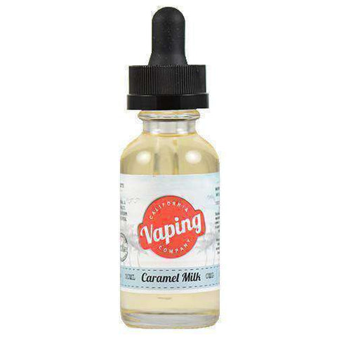 California Vaping Company - Caramel Milk