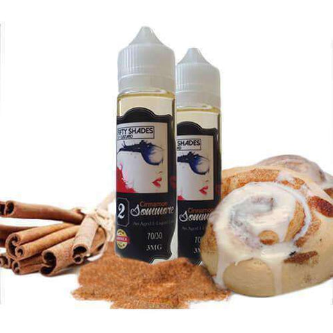 50 Shades of Custard eJuice - Cinnamon Sommore