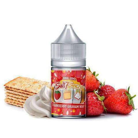 Salt Frenzy by Liquid EFX - Strawberry Graham Whip