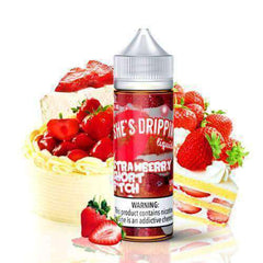 Fuggin eLiquids - She's Drippin - Strawberry Short B*tch