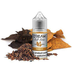 Dream E-Juice Salt Series - Tobacco Pod Refill