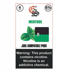EON Pods - JUUL Compatible Refill Pod - Menthol (4 Pack)
