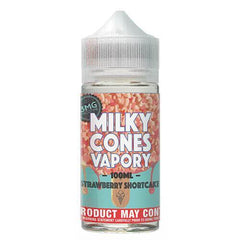 Milky Cones Vapory - Strawberry Short Cake Ice Cream