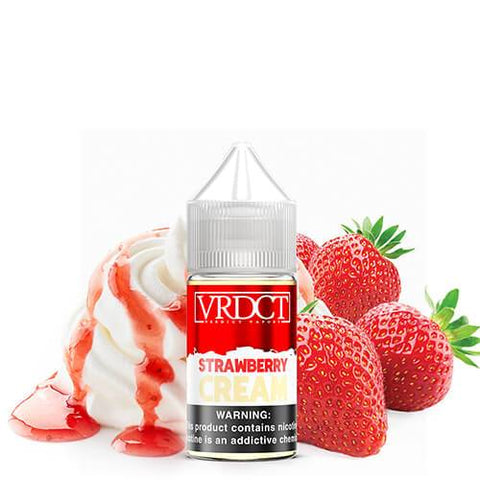 Verdict Vapors Salts - Strawberry Cream