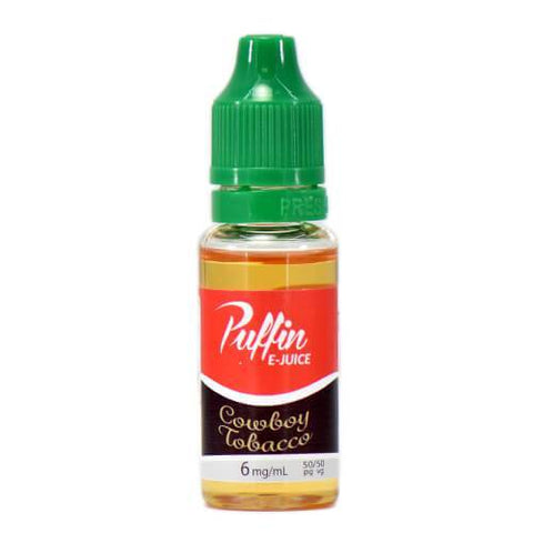 Puffin E-Juice - Cowboy Tobacco