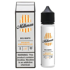 The MilkMan Delights eLiquids - Mango Creamsicle