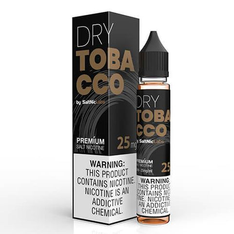 VGOD and SaltNic eJuice - Dry Tobacco