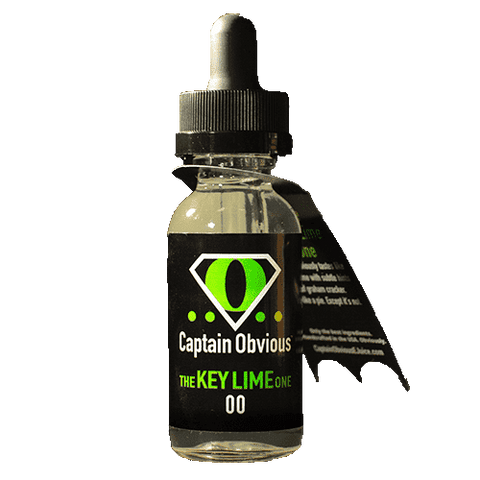 Captain Obvious E-Juice - The Key Lime One
