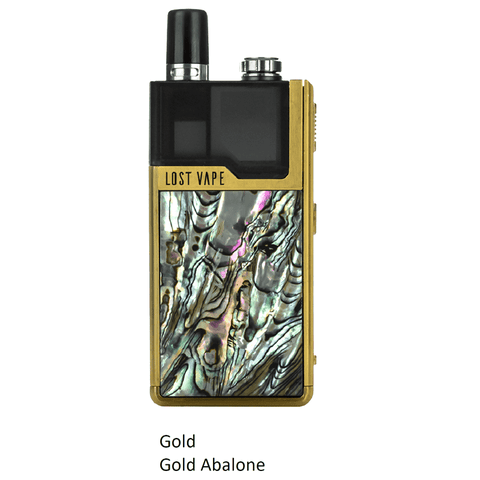 Lost Vape Orion 40W DNA GO AIO Kit Gold Abalone Pod System - Juicy Js Vapes