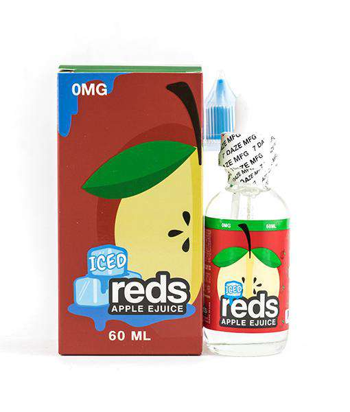 7Daze Reds Apple Iced 60ml 6mg