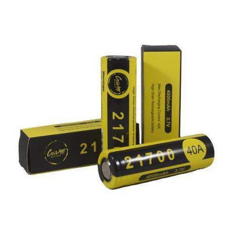 CoilArt 21700 40A 4000mAh Battery