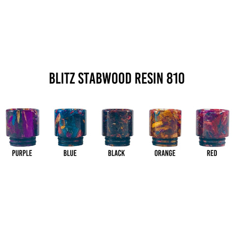 Blitz Stab Wood Resin 810 Drip Tip
