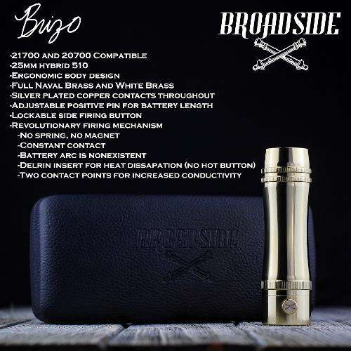 Broadside Brizo 21700 Mechanical Mod