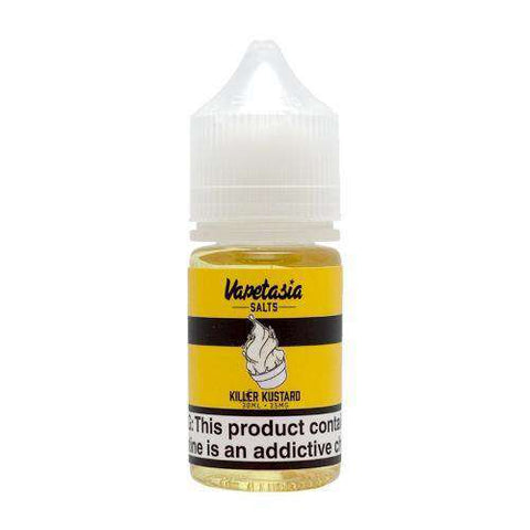 Vapetasia Salts - Killer Kustard (30ml)-CA.TU