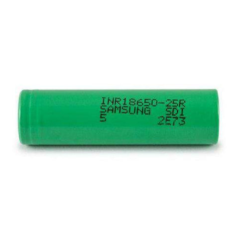 Samsung 25R INR 18650 2500mah (Pack of 2)