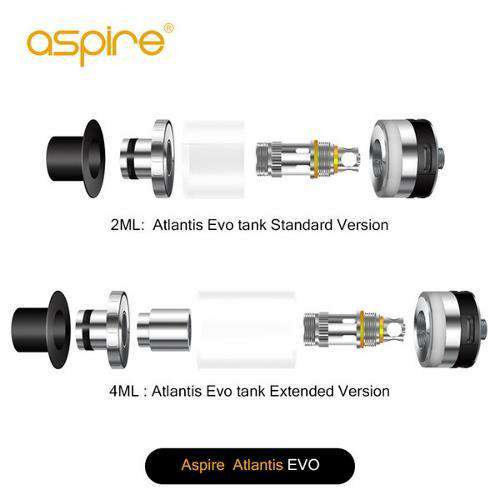 Aspire Atlantis Evo Extended Tank (4ml)
