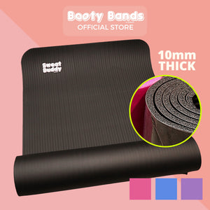 Yoga Mat 10mm - Booty Bands PH