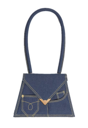 MUSAI DENIM HANDBAG