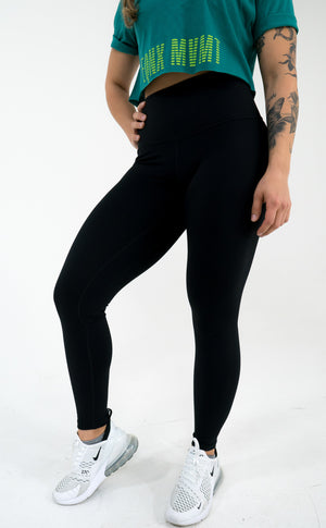 Nova Reflect Leggings (High-Rise) -Black