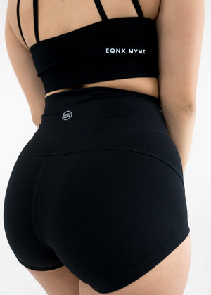 Hydra Movement Shorts (High-Rise) -Black - Equinox Movement
