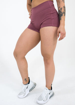 Hydra Movement Shorts (High-Rise) -Rose Gold - Equinox Movement