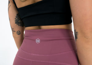 "Hydra Movement Shorts 2.5"" (High-Rise)- Rose Gold - Equinox Movement"