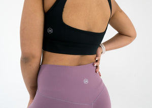 Nova Reflect Leggings (High-Rise) -Mauve