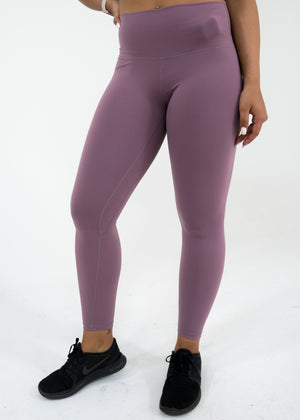 Nova Reflect Leggings (High-Rise) -Mauve - Equinox Movement