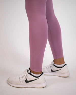 Ultra-flex Seamless Leggings V4- Mauve - Equinox Movement