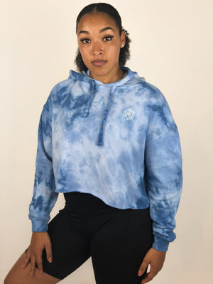 "'Sky"" Cropped Hoodie (Limited Edition) - Equinox Movement"
