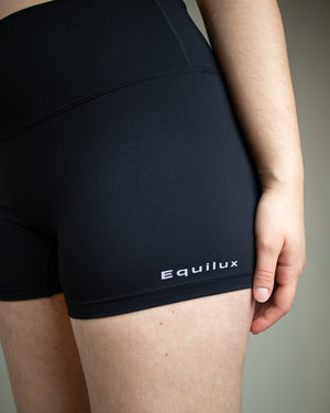 No Seam Shorts- Black - Equinox Movement