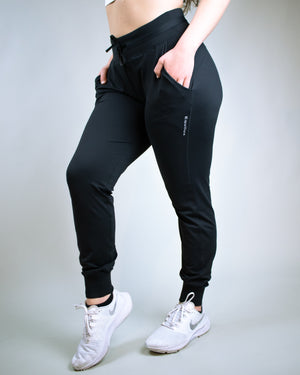 Lucid Joggers- Black - Equinox Movement