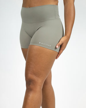 No Seam Shorts- Sage - Equinox Movement