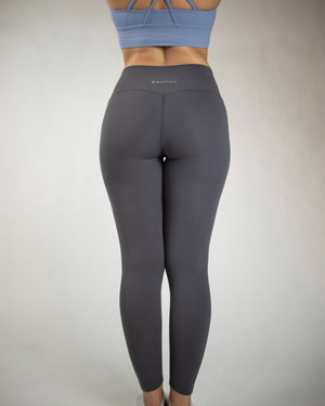 No Seam Leggings (High-Rise)- Ash Grey