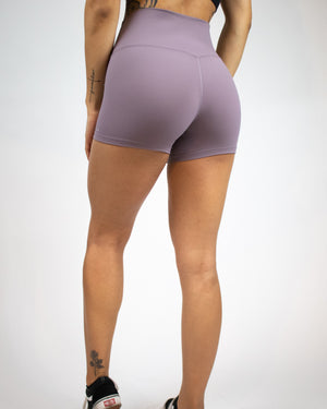 No Seam Shorts- Lilac