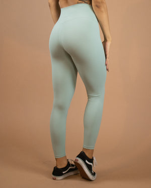 No Seam Leggings (High-Rise)- Frost - Equinox Movement