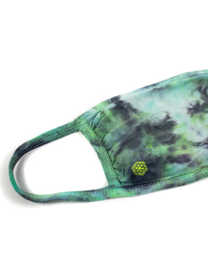 Tie-Dye Face Mask- Slime - Equinox Movement
