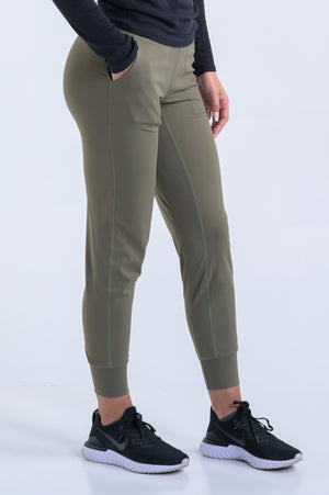 "Atlas Joggers 28""- Light Olive - Equinox Movement"
