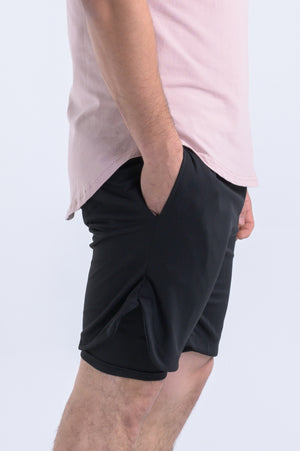 Men's Tactical Shorts- Black - Equinox Movement