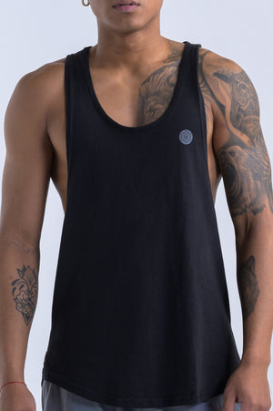 Men's Reflect Tank- Black - Equinox Movement