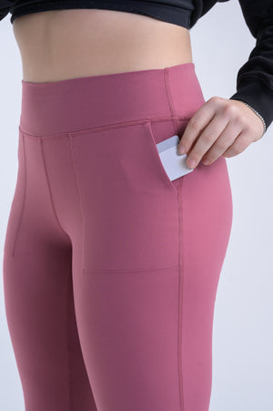 Atlas Flex Joggers- Rose Gold - Equinox Movement