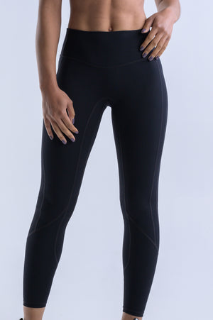 Wanderlust Pocket Leggings- Black - EQNX MVMT