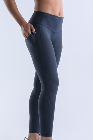 Wanderlust Pocket Leggings- Aegean Blue - Equinox Movement
