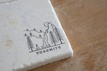 National Parks Marble Coasters - Lace, Grace & Peonies