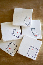 New Mexico Coasters - Lace, Grace & Peonies