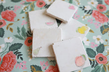 Pear Marble Coasters - Lace, Grace & Peonies