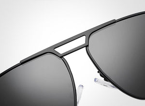 Retro Aluminum Polarized Lens Sunglasses For Men
